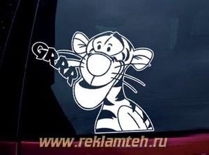 plotternaya rezka dlya avtomobilei v reklamteh.ru 3 Плоттерная резка