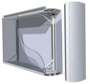 diabox gray - Двусторонние световые короба